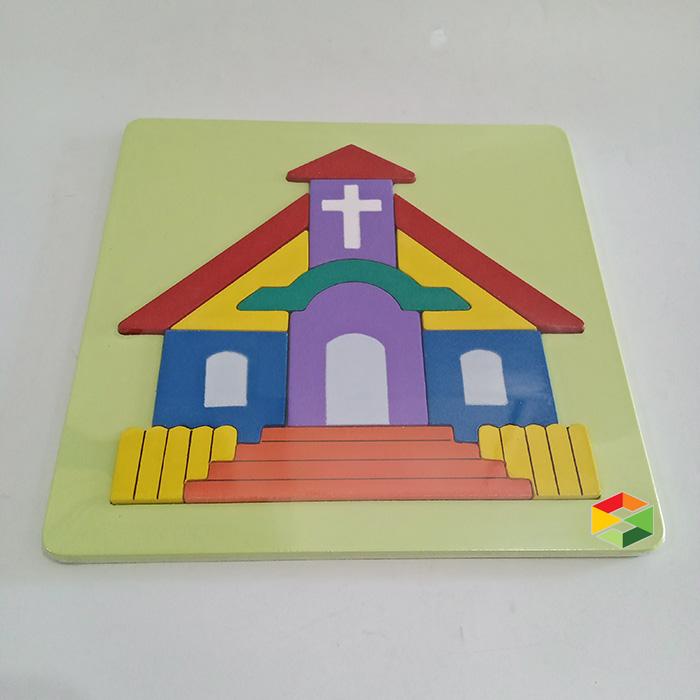 Puzzle Gereja Kristen