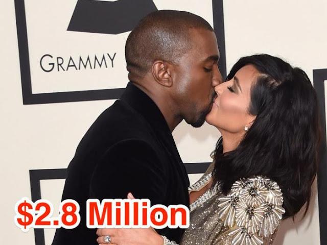 12-Kim Kardashian and Kanye West