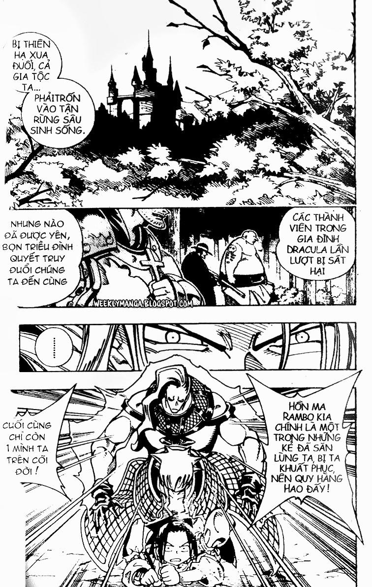 Shaman King [Vua pháp thuật] chap 99 trang 11
