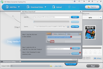 HD Video Converter Factory Pro Tutorial - Choose the Output Format or Device
