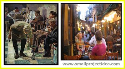 مشروع قهوة بلدي وربح 12 الف جنية شهرياً