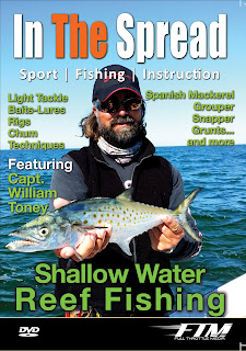 shallow water reef fishing with Capt, William Toney in the spread dvd cover