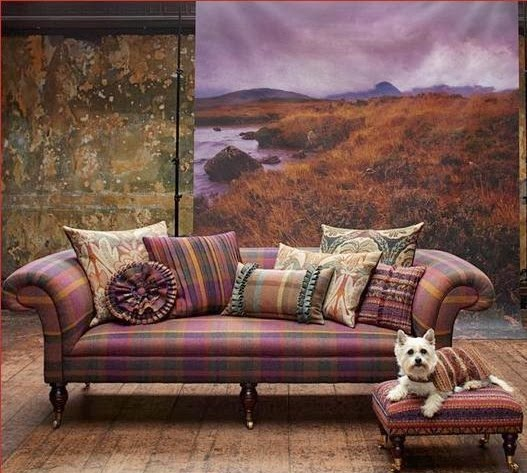 Bedding Home Decor: Eye For Design: Plaid.....Decorate Menswear Style