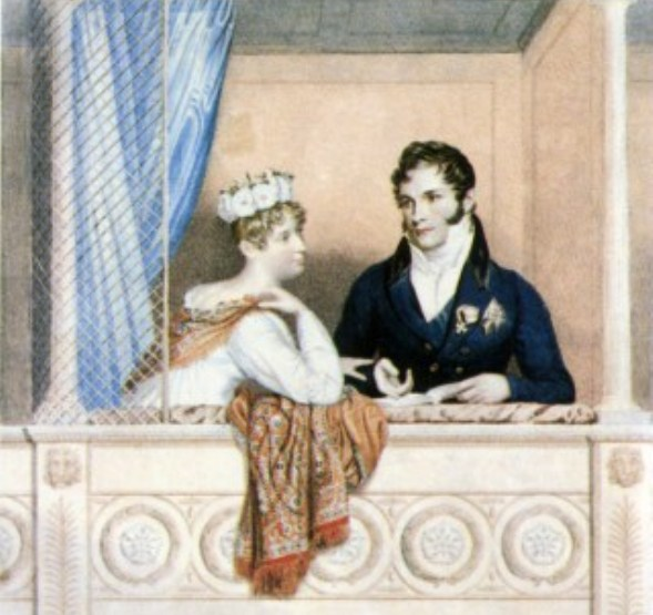 Charlotte and Leopold, after their marriage