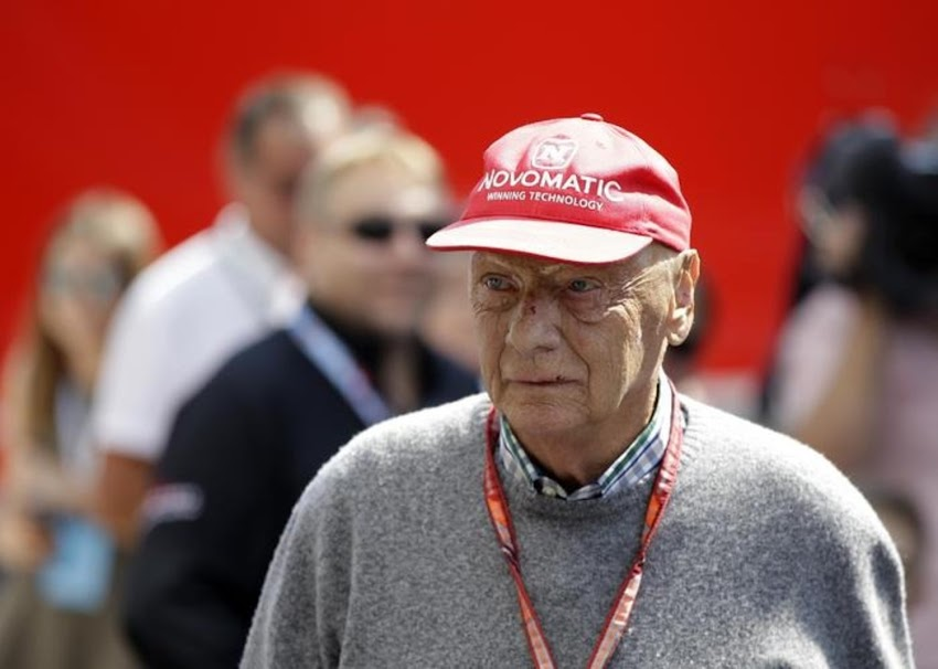 Oggi è un giorno triste per la F1... è morto all'età di 70 anni l'ex pilota austriaco Niki Lauda