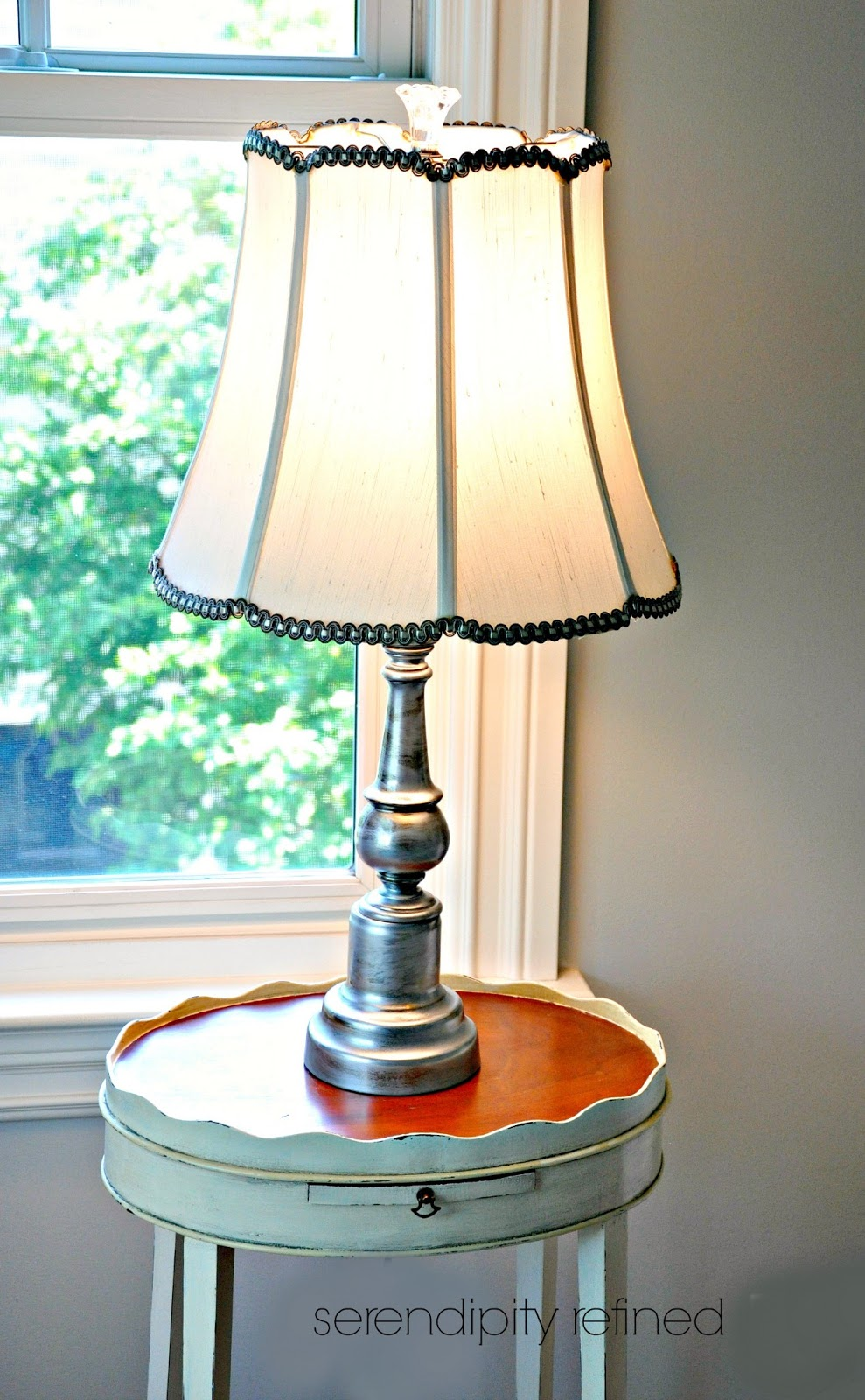 Serendipity Refined Blog How To Make Over A Pair Of Lamps