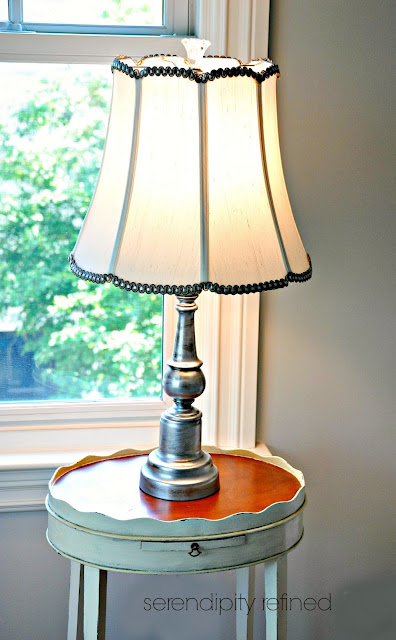 Serendipity Refined Blog: How To Make Over a Pair of Lamps ...