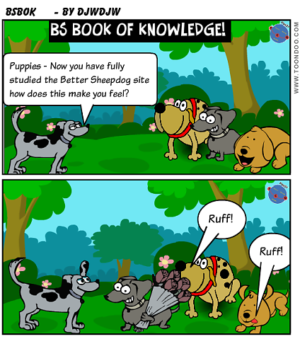 Better Sheepdog Book of Knowledge