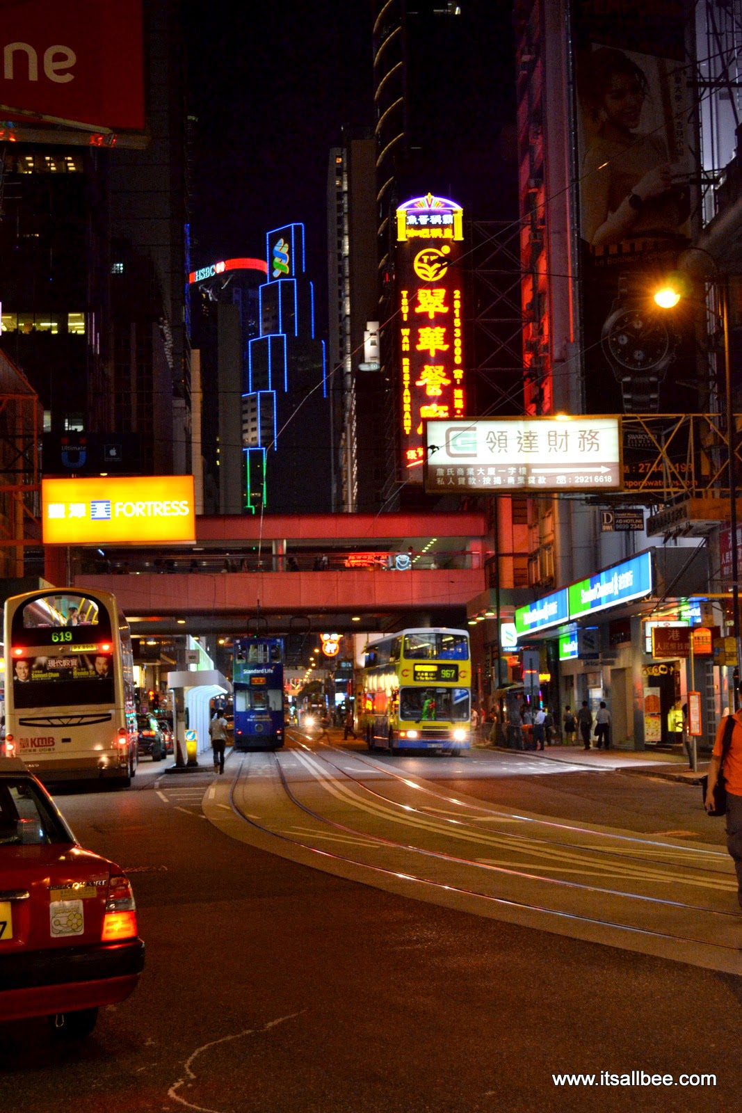 symphony of lights hong kong -  Victoria Harbour