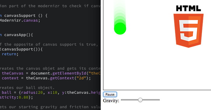 HTML5 Canvas Physics Tutorial