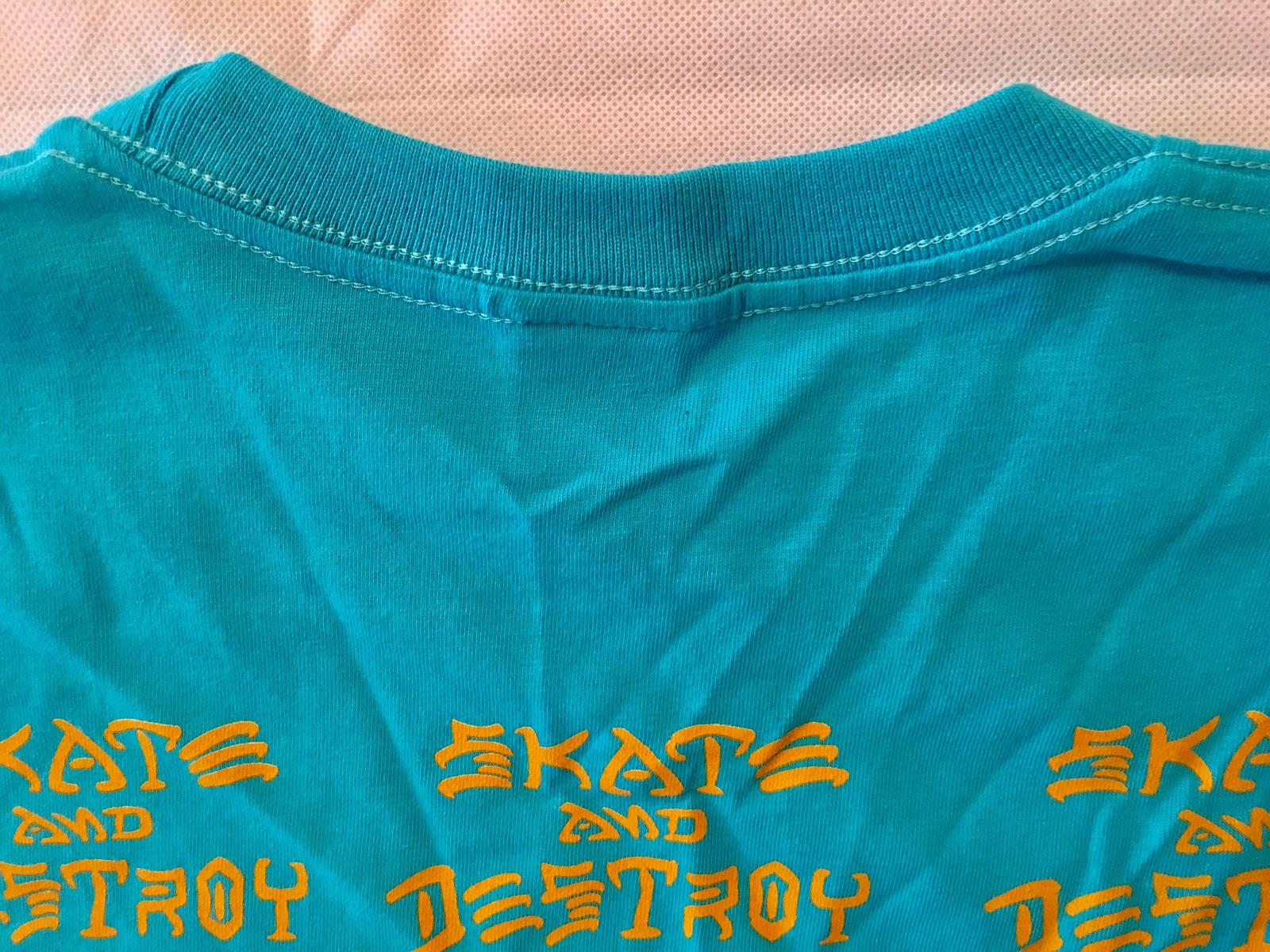 d30033edba2f68 Supreme x Thrasher 17SS Boyfriend Tshirt