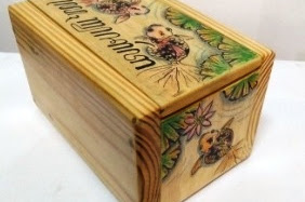Wooden Gift Box - JH 003
