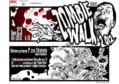 Zombie Walk Torino: 23 Settembre 2012