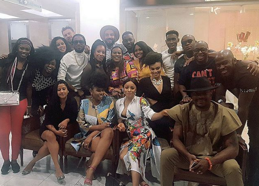 Photos from singer Yemi Alade's birthday party in South Africa
