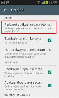 Cara Menghemat Paket Internet di HP Android