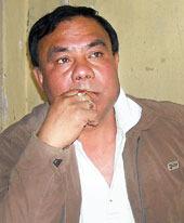 Akhil Bharatiya Gorkha League vice-president Laxman Pradhan