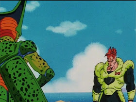 Games: Dragon Ball Z ep 152 17 Swallowed The Transforming Cell is ...