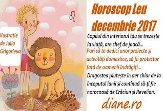 Horoscop decembrie 2017 Leu