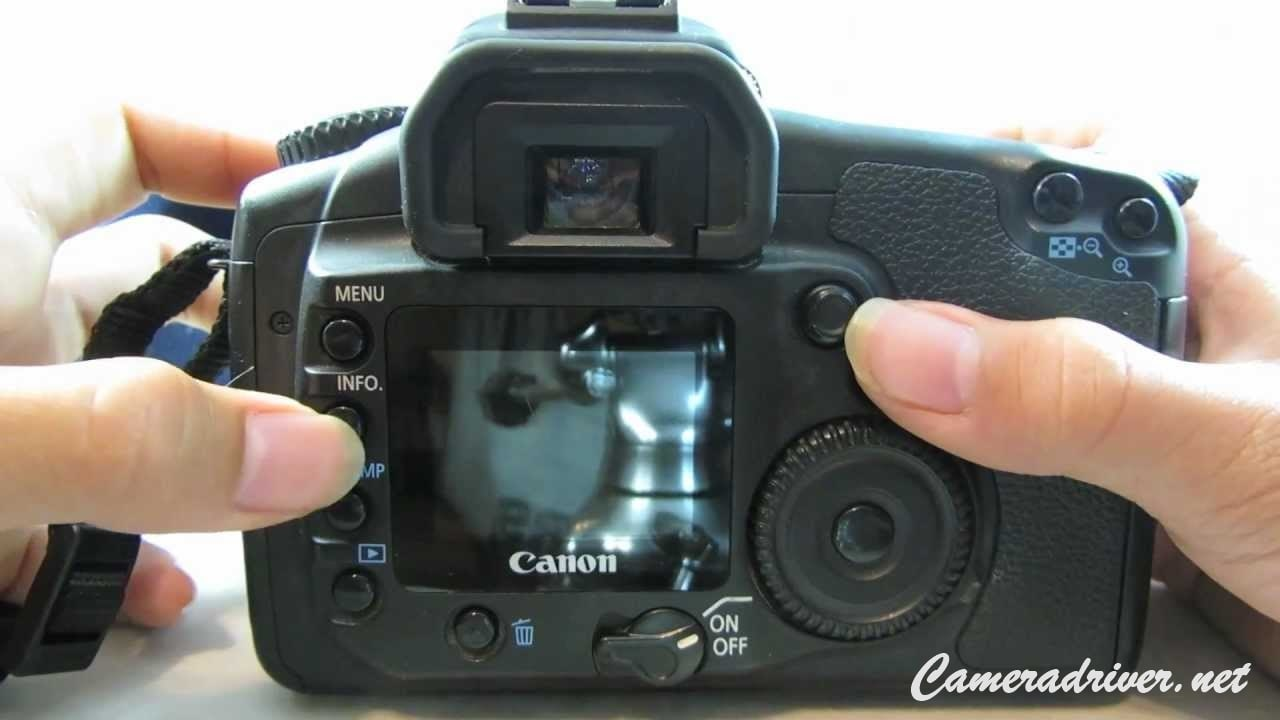 Canon EOS 20D Software Download
