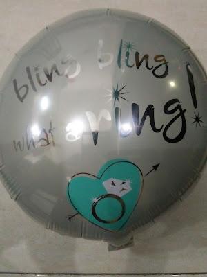 Balon Foil Bling Bling What A Ring