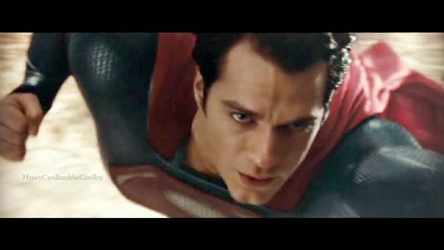 xryho henry cavil is superman in man of steel