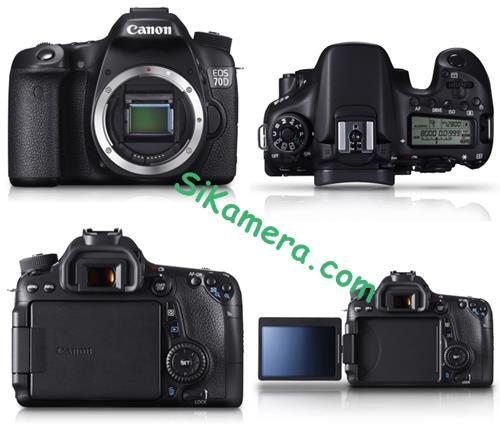 Harga Kamera Canon EOS 70D