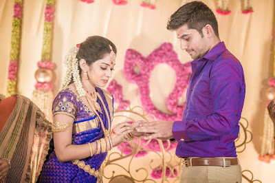 Sun Music VJ Diya and Karthik engagement