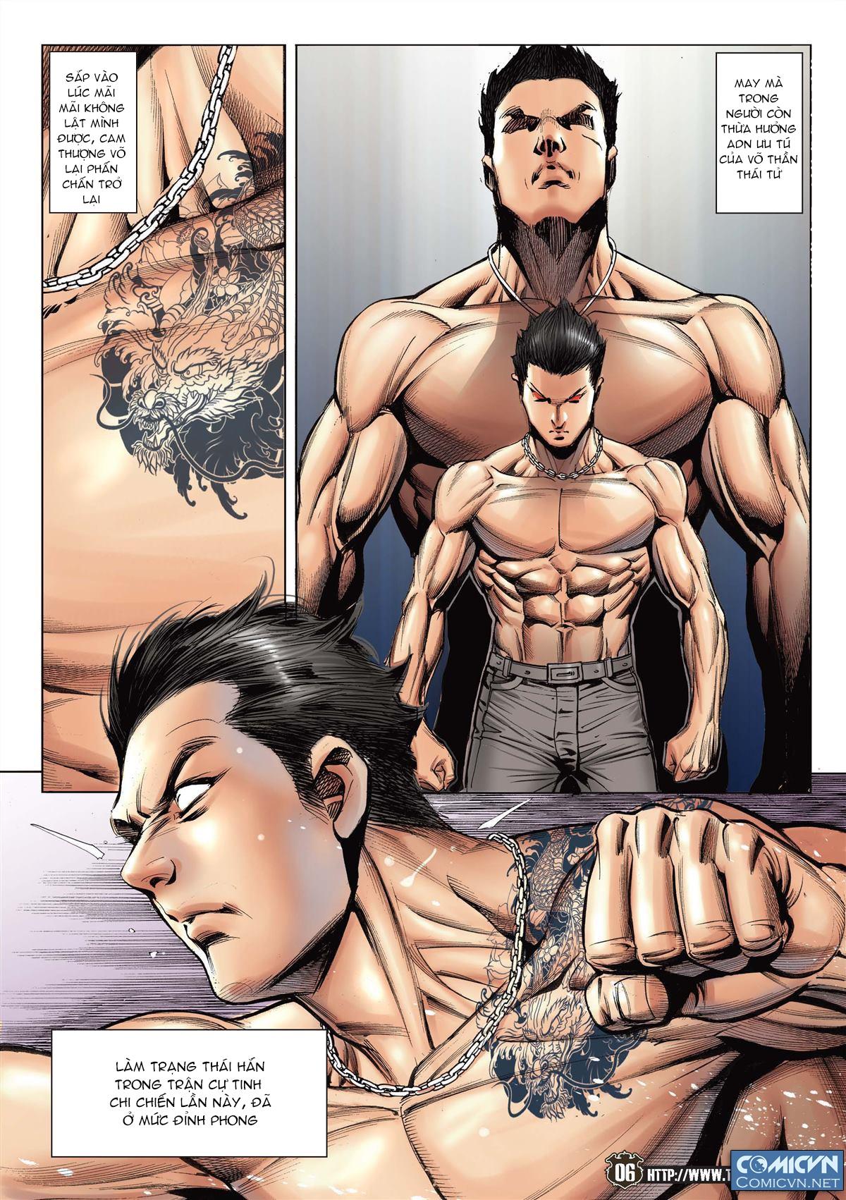 Người Trong Giang Hồ chapter 2143: ác chiến vua muay thai trang 4