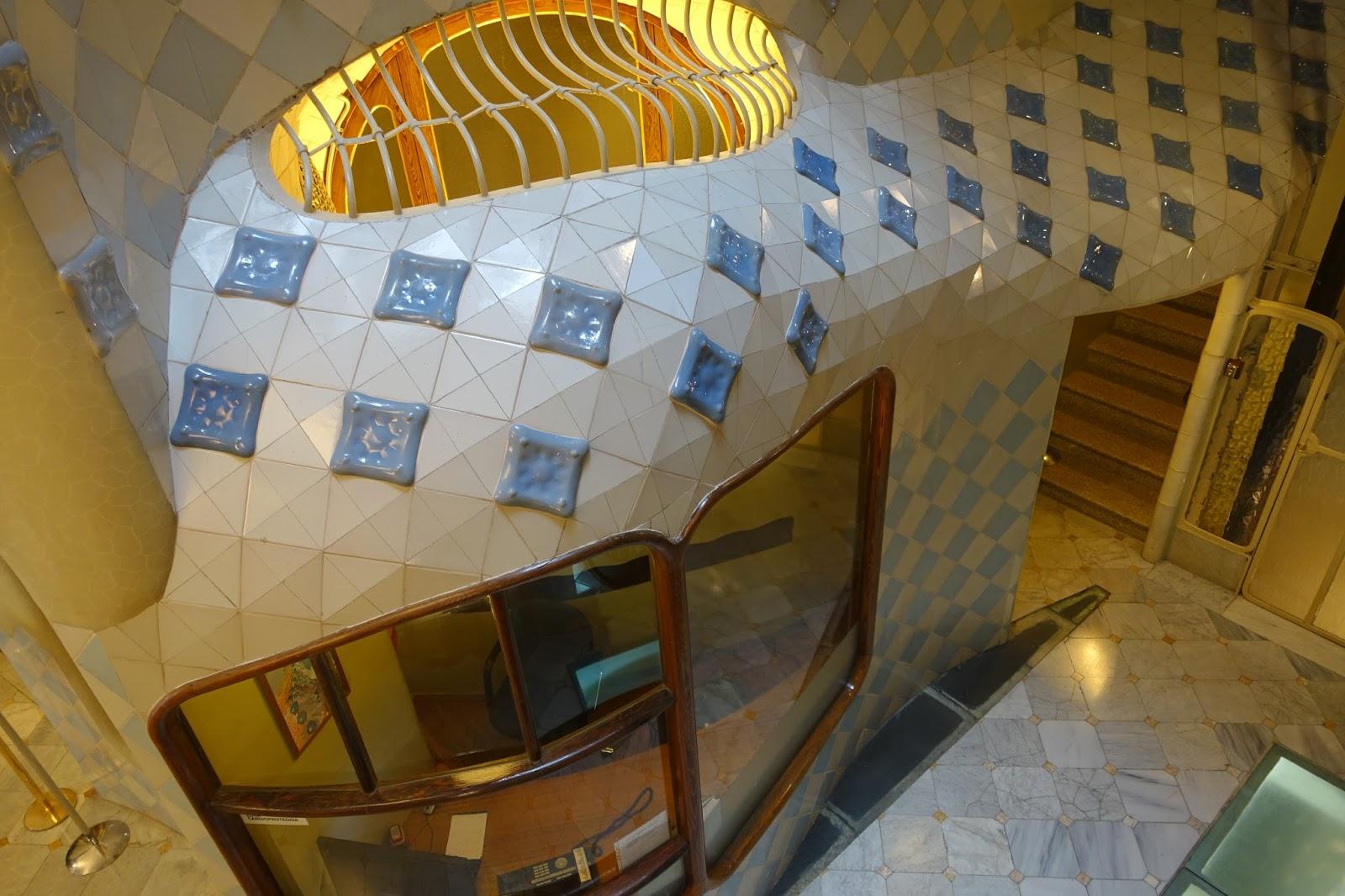 カサ・バトリョ(Casa Batlló)の集合住宅の管理人室