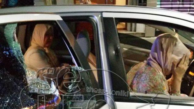 Θεσσαλονίκη: Πράκτορες  Έσπασαν αυτοκίνητο με τουρκικές πινακίδες για λένε μετά για φασίστες διαδηλωτές!