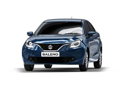 New 2016 Maruti Suzuki Baleno front look