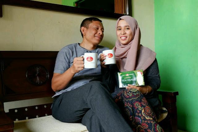 Indahnya #Sehatea Bersama Suami