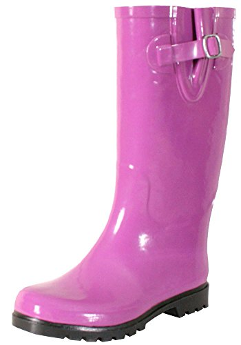 Rain Wear For Women: Best-Rated Pink Rubber Rain Boots For Women ...