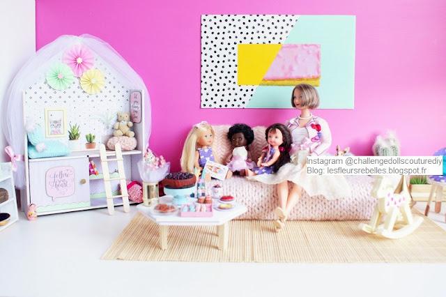 Challenge Dolls Couture & DIY Goûter en famille