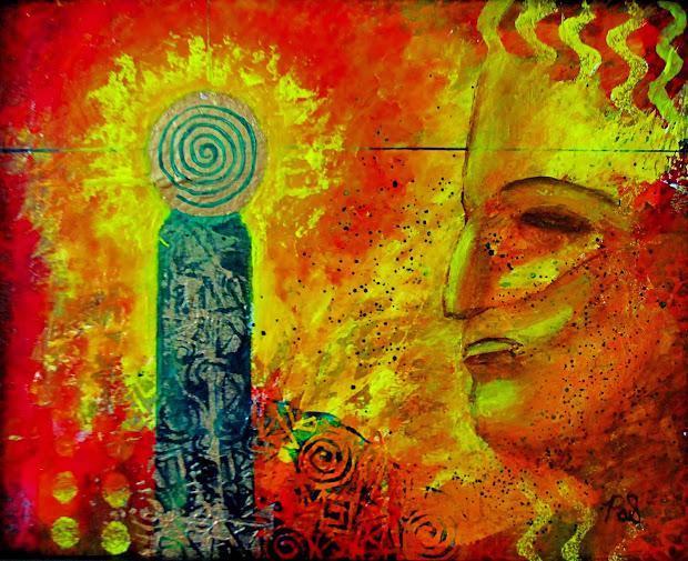 Contemporary Artists Of Arizona Abstract Mixed Media