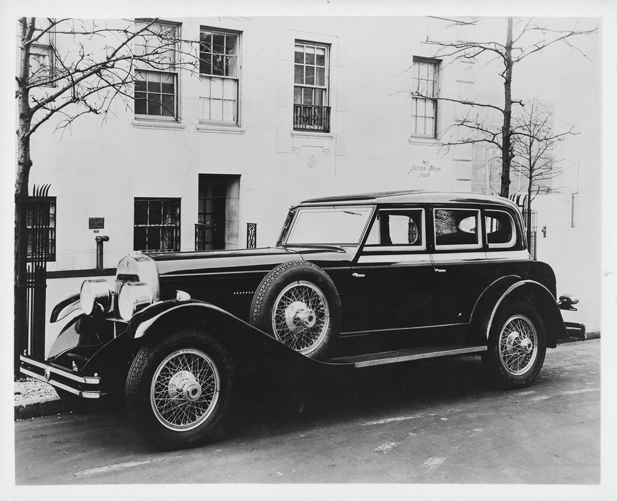 Vintage Motoring Blog: 1930 duPont Series G Special Sport Sedan by Merrimac