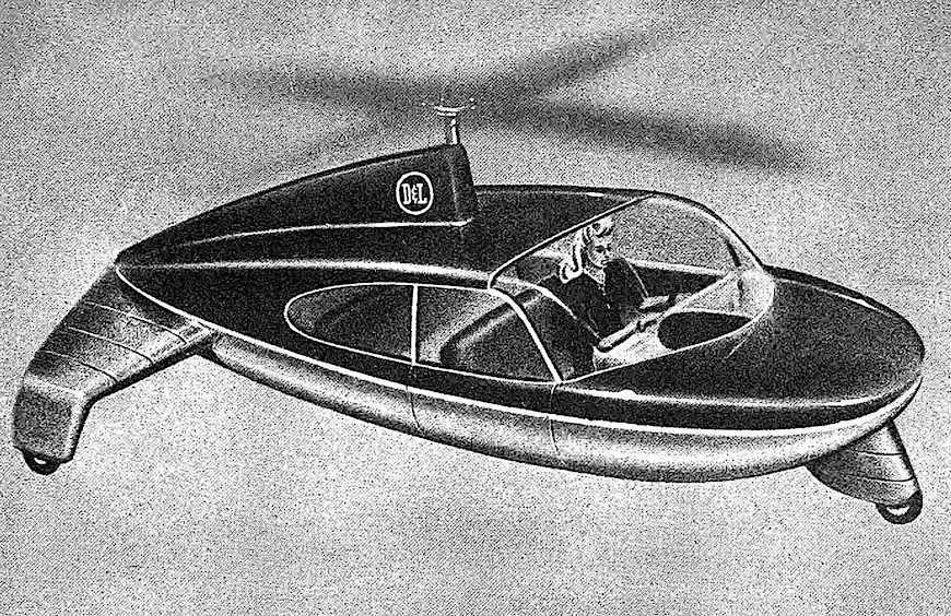 helicar illustration 1947