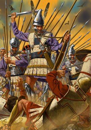 Macedonia Documents: Ancient Warriors - Illustrations