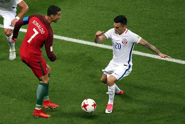 Portugal y Chile en Copa Confederaciones 2017, 28 de junio