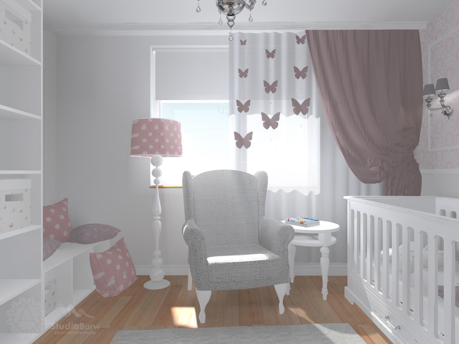 Projektowanie Pokoju Dziecka U Boku Dziecka Studio Barw Swiat