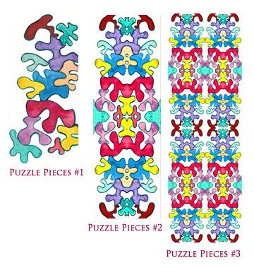 Puzzle Pieces in Progress