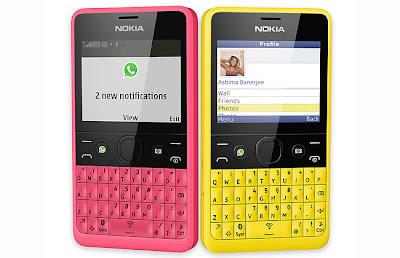 Harga dan Spesifikasi Nokia Asha 210