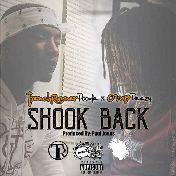 OMB Peezy - Shook Back (feat. Trenchrunner Poodie) - Single Cover