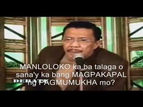 Ang dating daan debate video eliseo soriano debate