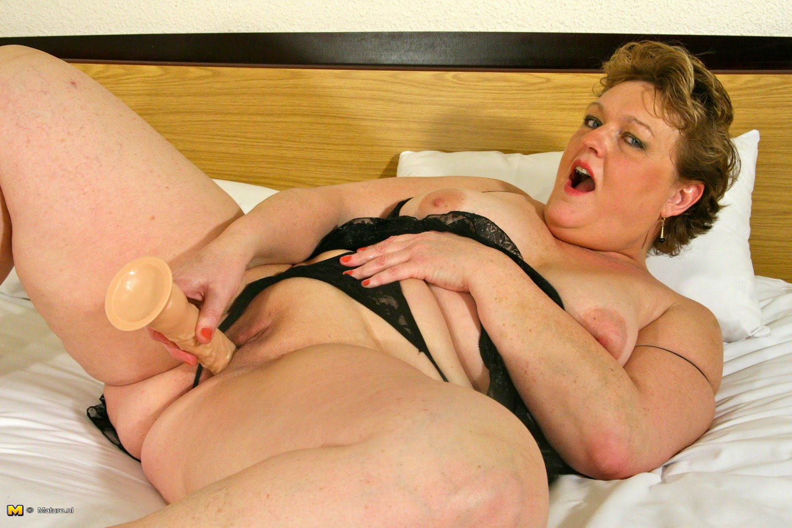 Commit older women only playing with a dildo join