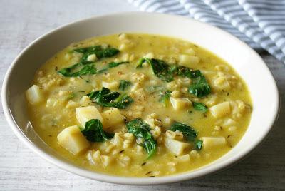 zupa z białych warzyw korzeniowych
