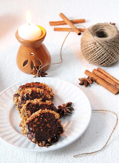Korzenne ciasteczka owsiane
