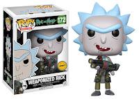 Funko Pop! Weaponized Rick CHASE