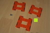 Zaun orange: Playbees 100 Teile Magnetische Bausteine Set für 2D und 3D Form Konstruktionen, Regenbogenfarben Magnetspielzeug, Baukasten Magnetspiel, Magnetbausteine