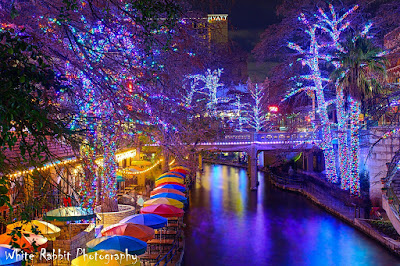 San Antonio Riverwalk Christimas 2017